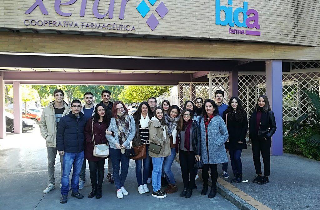 Visita a Bidafarma