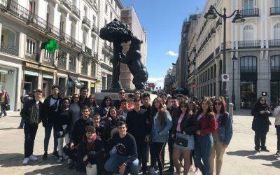 Viaje a Madrid de 4 de ESO
